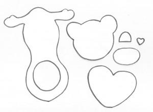 passo a passo lembracinha em eva  porta bombom ursinho festa aniversario cha de bebe maternidade (6)