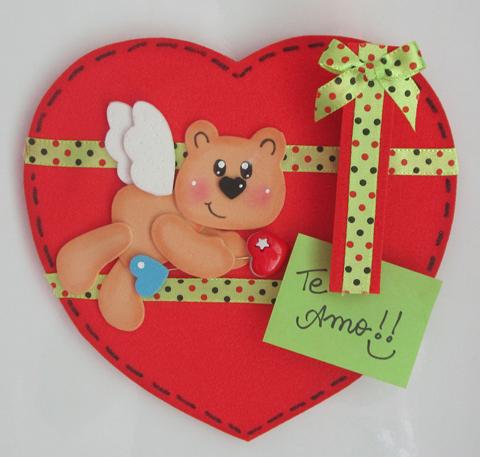 passo a passo ursinho em eva decoracao lembrancinha dia dos namorados (1)