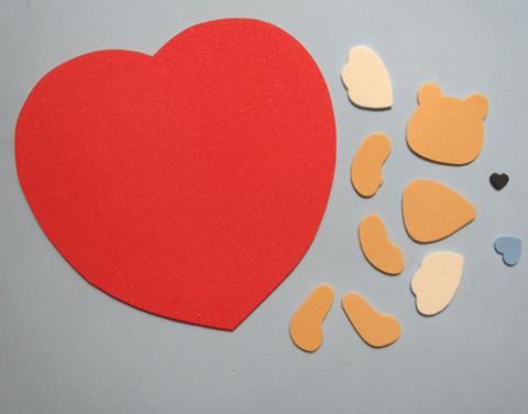 passo a passo ursinho em eva decoracao lembrancinha dia dos namorados (3)