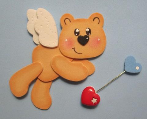 passo a passo ursinho em eva decoracao lembrancinha dia dos namorados (4)