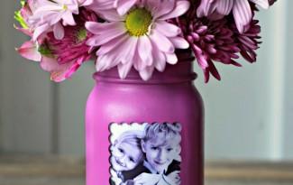 passo a passo vaso flores personalizado foto potinho vridro reciclagem (1)