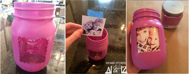 passo a passo vaso flores personalizado foto potinho vridro reciclagem (3)