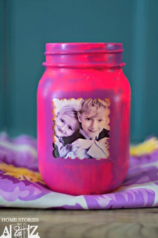 passo a passo vaso flores personalizado foto potinho vridro reciclagem (4)
