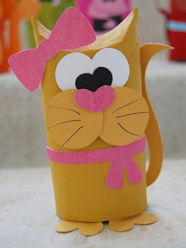 como fazer bichinhos rolinho papel higienico reciclagem sala de aula criancas brinquedo reciclado (1)