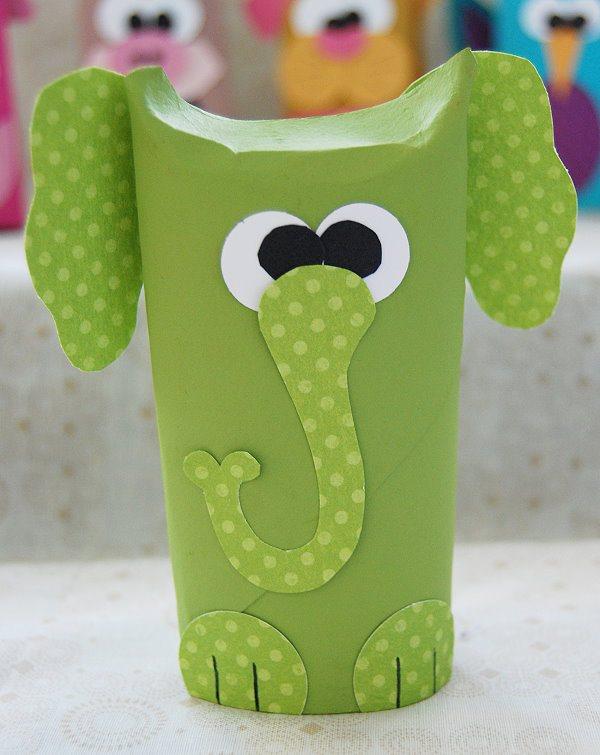 como fazer bichinhos rolinho papel higienico reciclagem sala de aula criancas brinquedo reciclado (4)