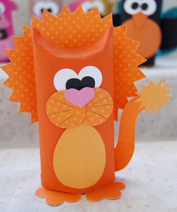 como fazer bichinhos rolinho papel higienico reciclagem sala de aula criancas brinquedo reciclado (9)