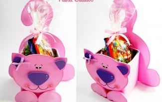 como fazer lembracinha EVA caixinha de leite dia das criancas aniversario infantil porta guloseima gatinha   (7)