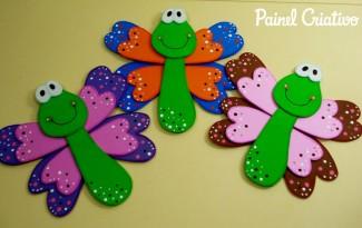 como fazer borboletinha eva decoracao cadernos paineis sala de aula escola agendas lembrancinhas festa infantil quarto crianca (1)