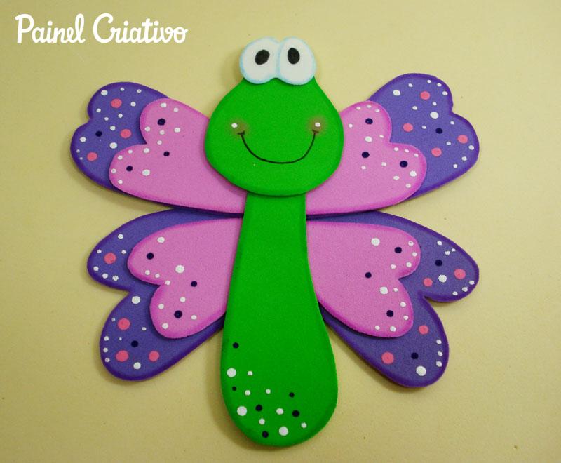 como fazer borboletinha eva decoracao cadernos paineis sala de aula escola agendas lembrancinhas festa infantil quarto crianca (4)