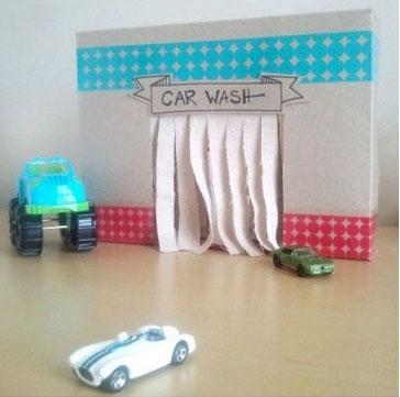 12 ideias brinquedos feitos caixa papelao reciclagem atividade criancas brincar em casa (3)