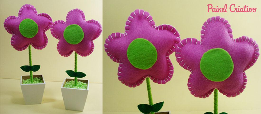 faca voce mesmo passo a passo flor feltro vasinho d flor lembrancinha aniversario maternidade dia das maes dia dos professores  (4)