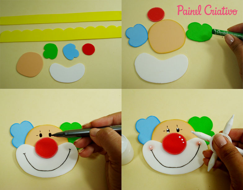 modelo lembrancinha palhaco EVA caixinha de leite Dia das criancas aniversario volta as aulas alunos escola reciclagem (4)