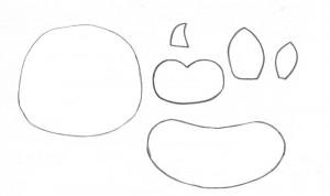 como fazer enfeite de mesa EVA festa aniversario fazendinha criancas galinha vaquinha (3)