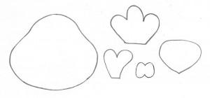 como fazer enfeite de mesa EVA festa aniversario fazendinha criancas galinha vaquinha (4)