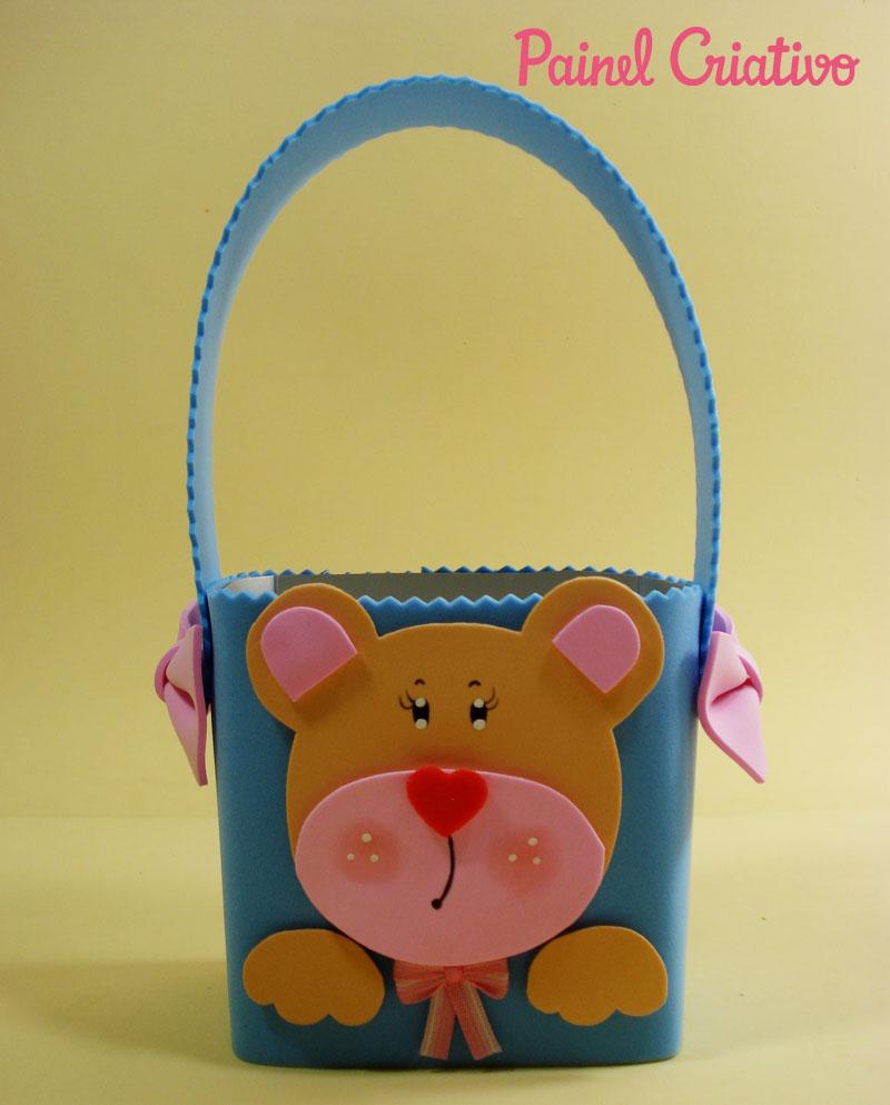 como fazer lembrancinha EVA caixinha de leite  porta guloseima ursinho dia das criancas olata as aulas festa aniversario criancas (1)