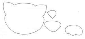 como fazer lembrancinha EVA caixinha de leite dia das criancas aniversario infantil porta guloseima gatinha   (18)