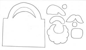 como fazer lembrancinha natal sacolinha papai noel EVA porta guloseimas escola criancas (4)