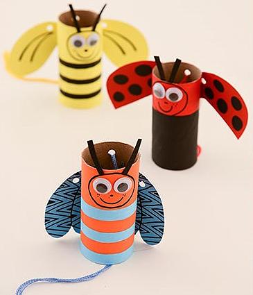 10 ideias reciclar rolinho papel higienico artesanato bonequinhos brinquedos reciclados criancas2