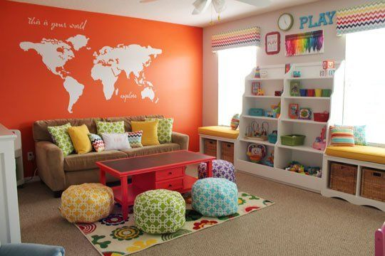modelos brinquedoteca crianca cantinho leitura quarto decoracao 3