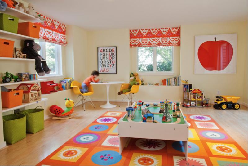 modelos brinquedoteca crianca cantinho leitura quarto decoracao 8
