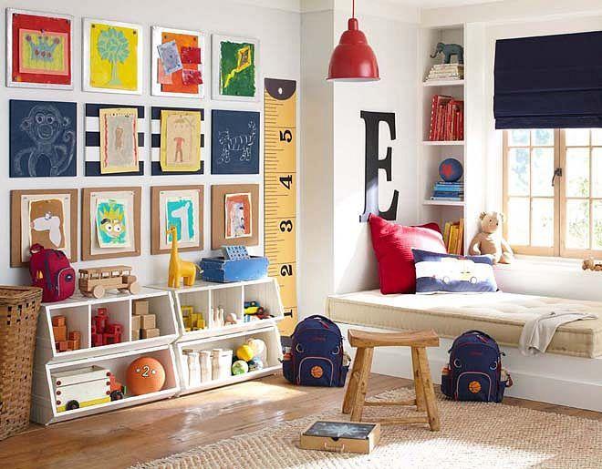 modelos brinquedoteca crianca cantinho leitura quarto decoracao 9