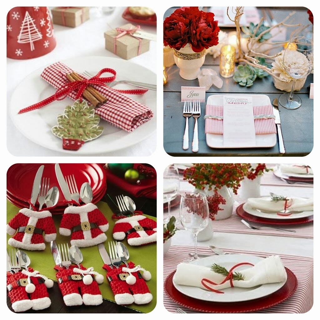 10 ideias criativas decoracao mesa natal casa ceia natalina 1