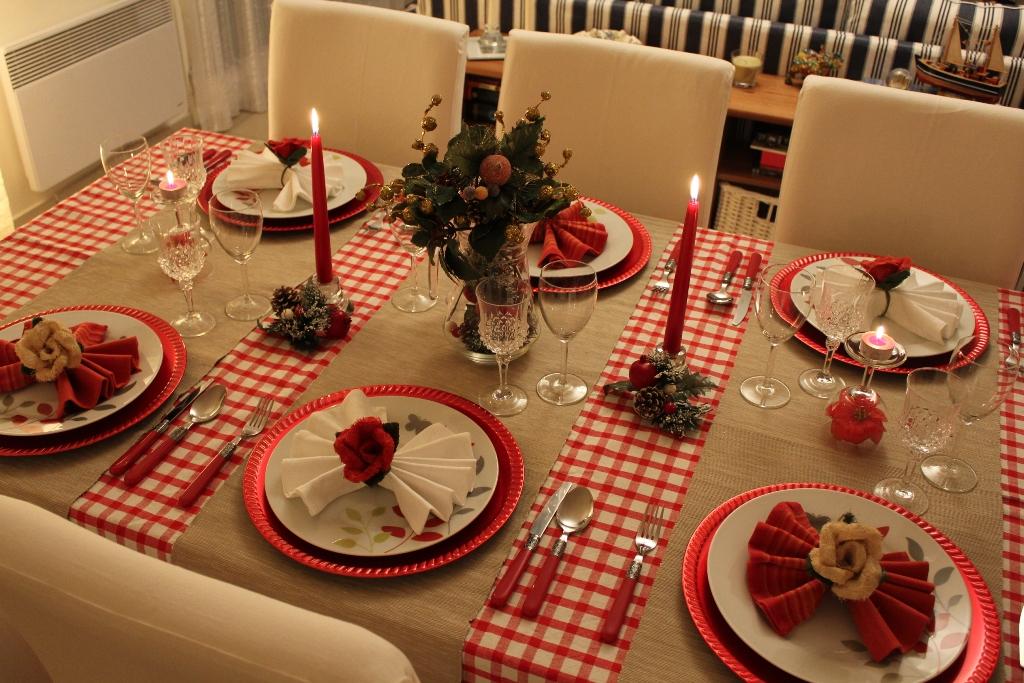 10 ideias criativas decoracao mesa natal casa ceia natalina 10