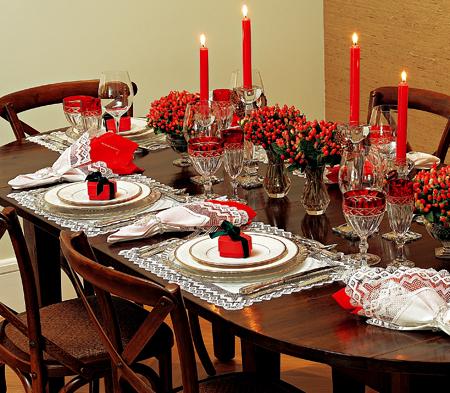 10 ideias criativas decoracao mesa natal casa ceia natalina 12