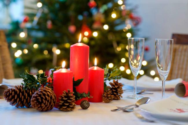 10 ideias criativas decoracao mesa natal casa ceia natalina 2