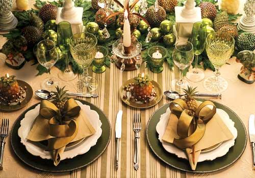 10 ideias criativas decoracao mesa natal casa ceia natalina 5