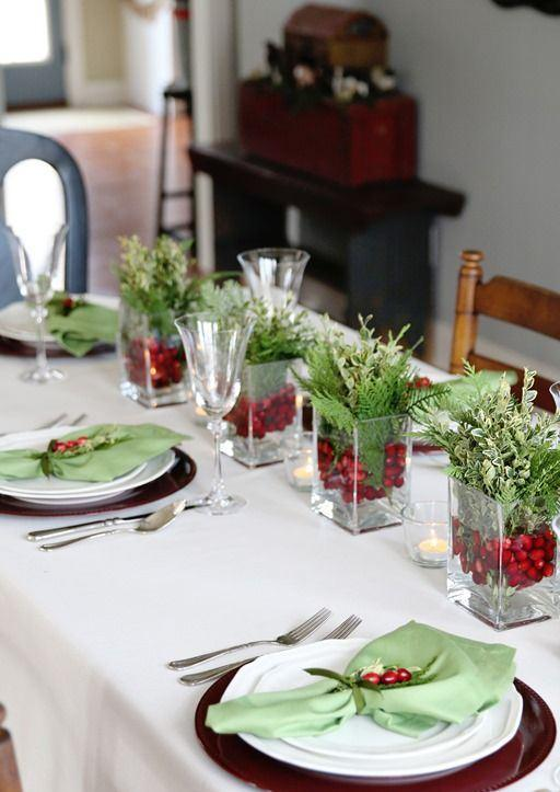 10 ideias criativas decoracao mesa natal casa ceia natalina 8