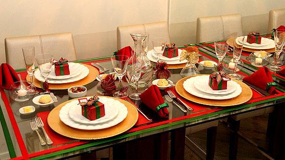 10 ideias criativas decoracao mesa natal casa ceia natalina 9