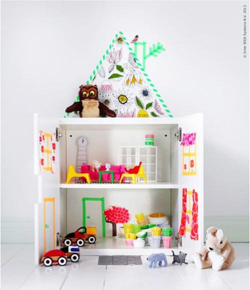 10 ideias criativas decoracao quarto menininas casinha de bonecas 10
