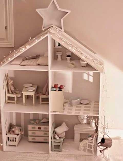 10 ideias criativas decoracao quarto menininas casinha de bonecas 2