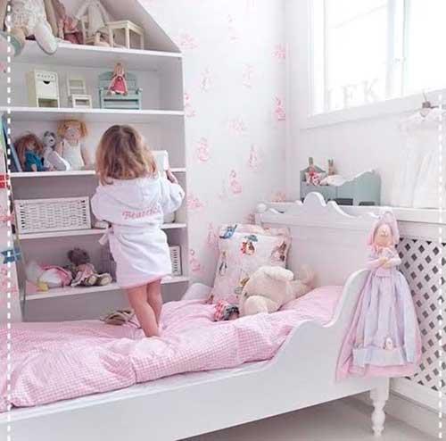 10 ideias criativas decoracao quarto menininas casinha de bonecas 3