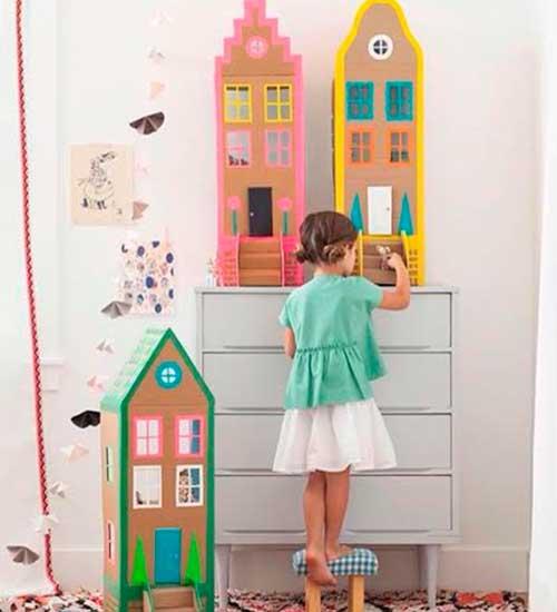 10 ideias criativas decoracao quarto menininas casinha de bonecas 4
