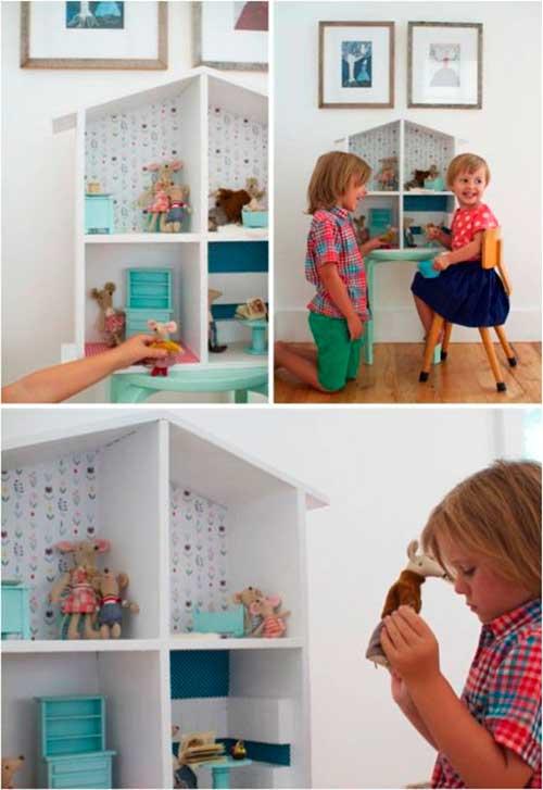 10 ideias criativas decoracao quarto menininas casinha de bonecas 5