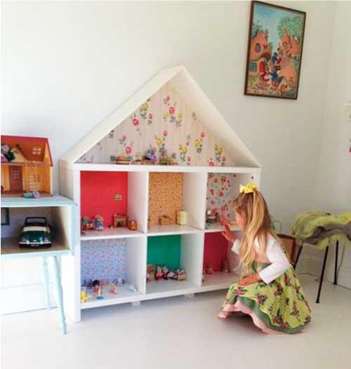 10 ideias criativas decoracao quarto menininas casinha de bonecas 7