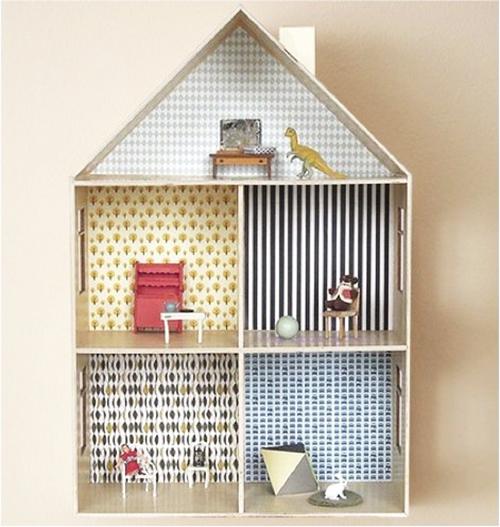 10 ideias criativas decoracao quarto menininas casinha de bonecas 8