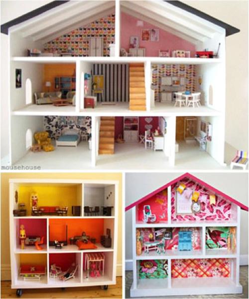 10 ideias criativas decoracao quarto menininas casinha de bonecas 9