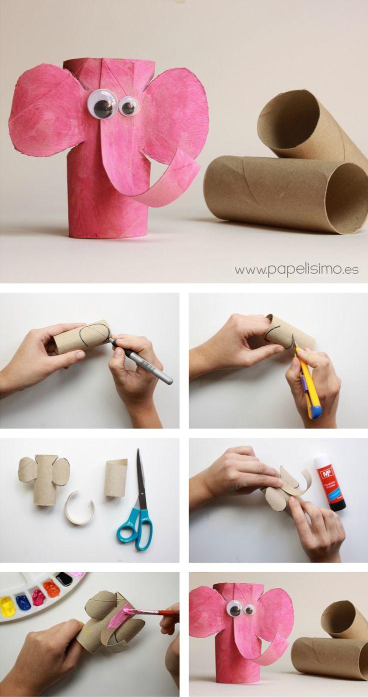 10 ideias criativas rolinho papel higienico atividade escolar reciclagem escola criancas 10