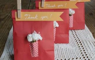 15 ideias criativas lembrancinha papel aniversario infantil batizado cha bebe artesanato painel criativo 1