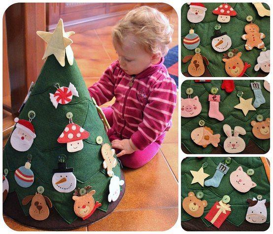 8 ideias criativas mini arvore natal decoracao casa artesanato painel criativo 3