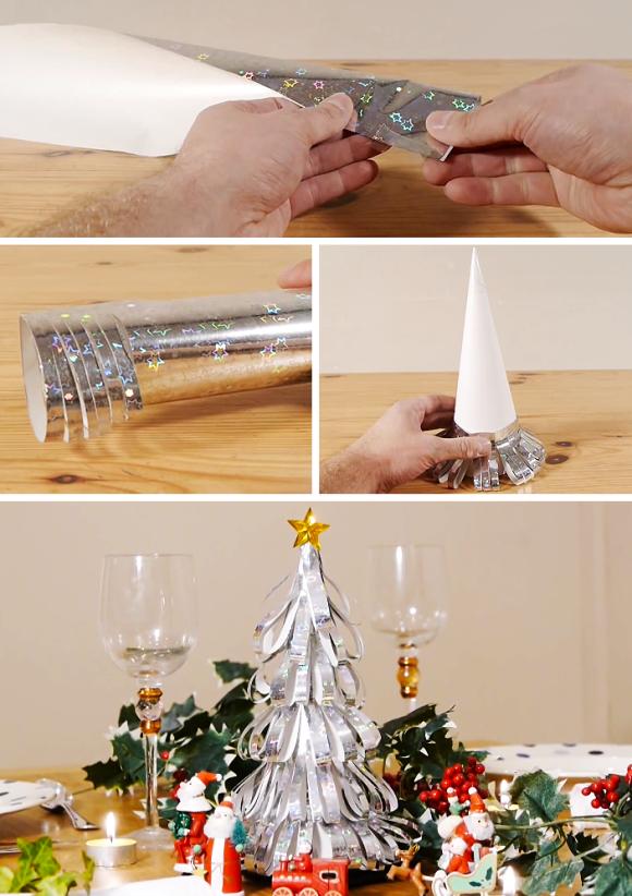 8 ideias criativas mini arvore natal decoracao casa artesanato painel criativo 6
