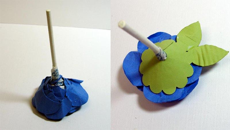 como fazer lembrancinha flor de papel porta pirulito dia das criancas dia maes dia professores decoracao festa aniversario mesa de doces (5)