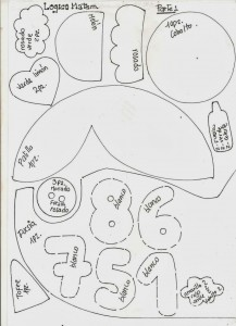 decoracao sala de aula painel menininha numeros EVA escola educacao infantil (2)