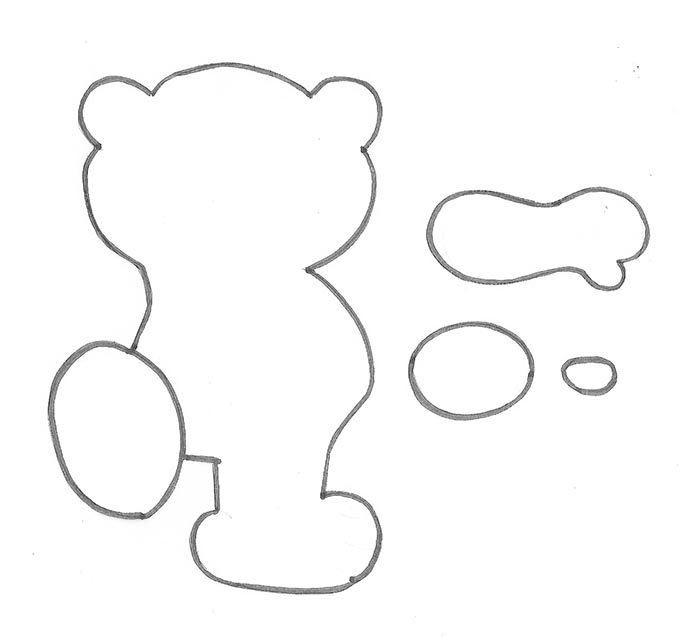 lembrancinha dia das criancas eva ursinho porta pirulito escola artesanato painel criativo 7