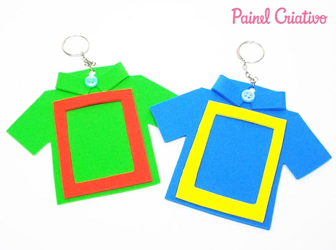 lembrancinha dia dos pais chaveiro EVA artesanato painel criativo (1)