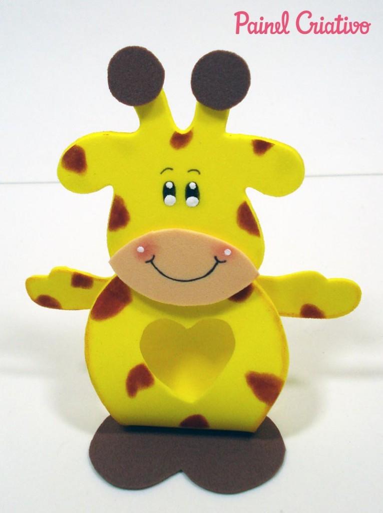 lembrancinha porta bombom girafinha EVA festa aniversario safari dia das criancas volta as aulas (1)