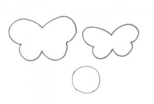 modelo porta retrato borboletinha EVA decoracao quarto menina artesanato painel criativo (5)